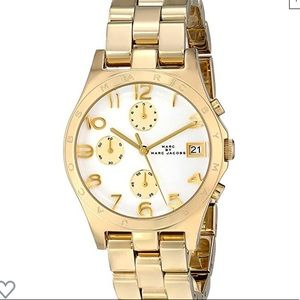 Marc by Marc Jacobs gold Ladies watch MBM3039